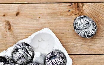 scandinavian style marimekko easter eggs