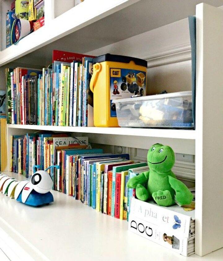1 day diy kids book storage build