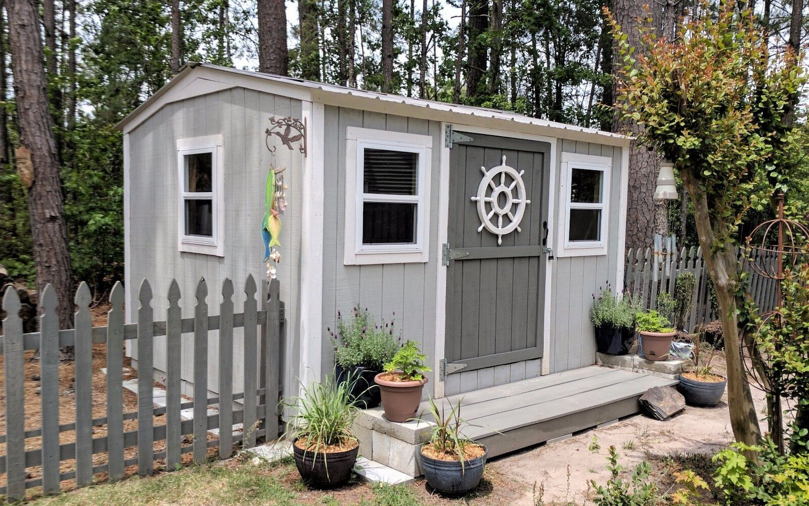 s upgrade your backyard with these 30 clever ideas, Give yourself a stunning storage shed