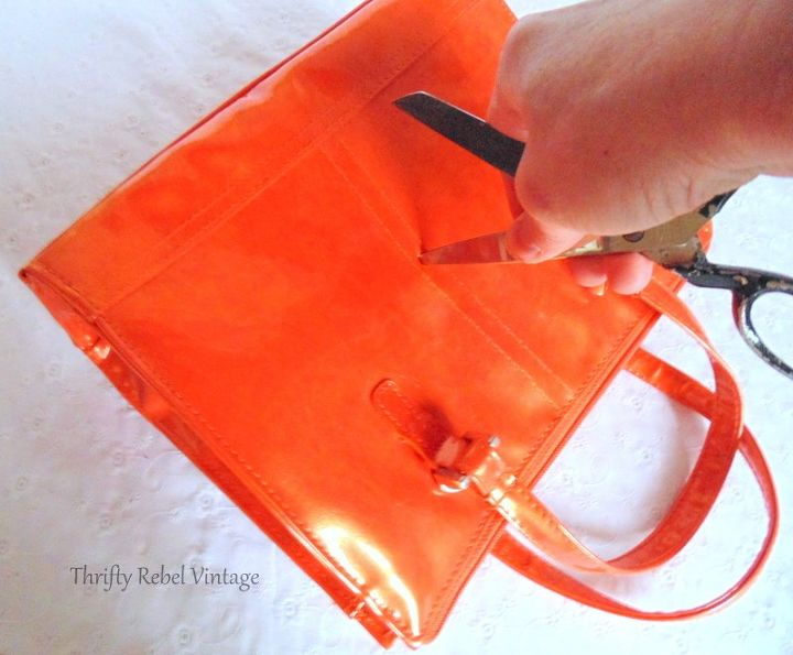how to make a purse clock