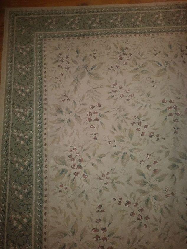 q best diy method for cleaning oriental type rug