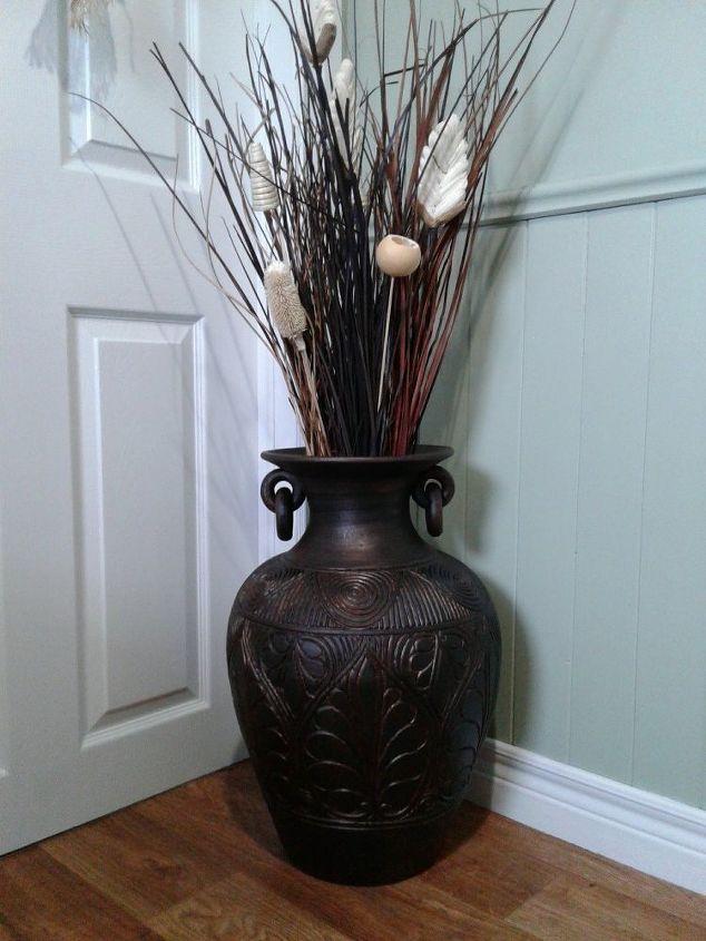 Antique Bronze Vase Makeover Hometalk