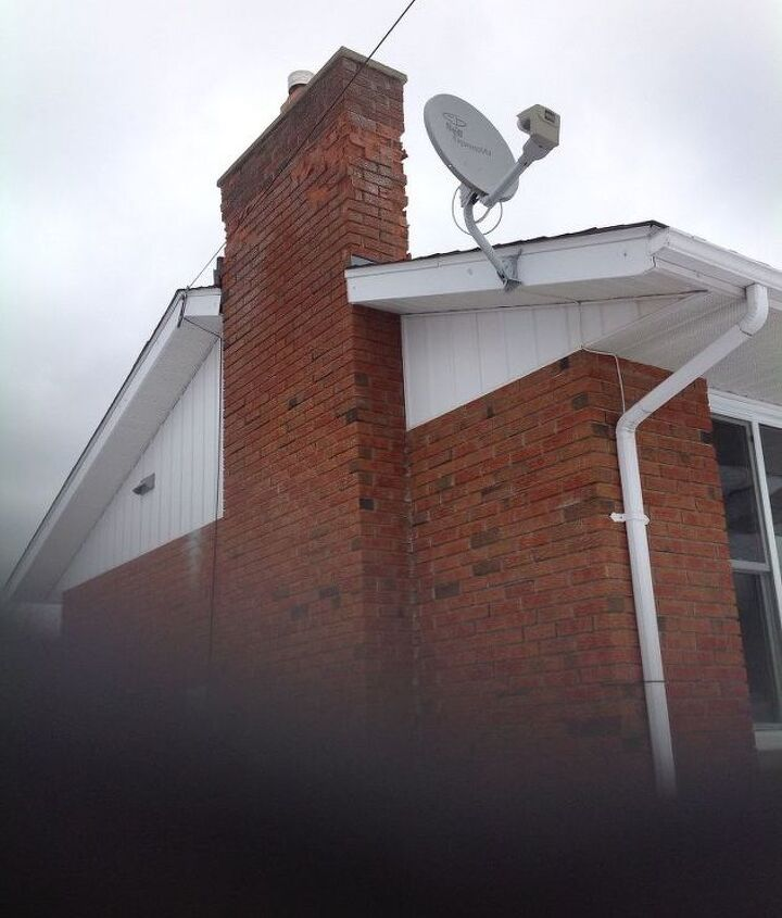 q how to repair top part of chimney