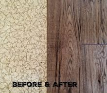 cheap easy floor makeover