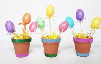 Easter Egg Pots - Kids Craft