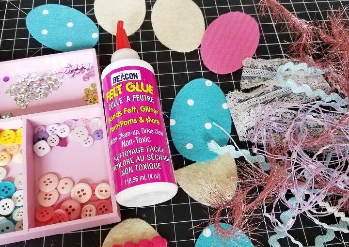 felt easter egg kids craft