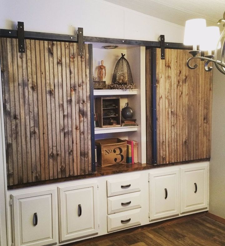 s 15 amazing projects to help make your home look fabulous, Custom Track Doors