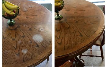 Removing White Heat Marks From Your Table Top