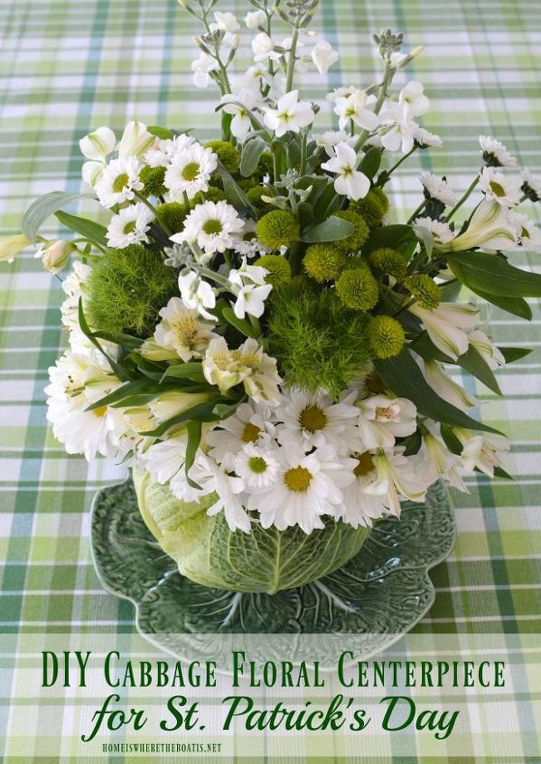 s 15 awesome projects to get you ready for st patrick s day, Centerpiece for St Patrick s Day
