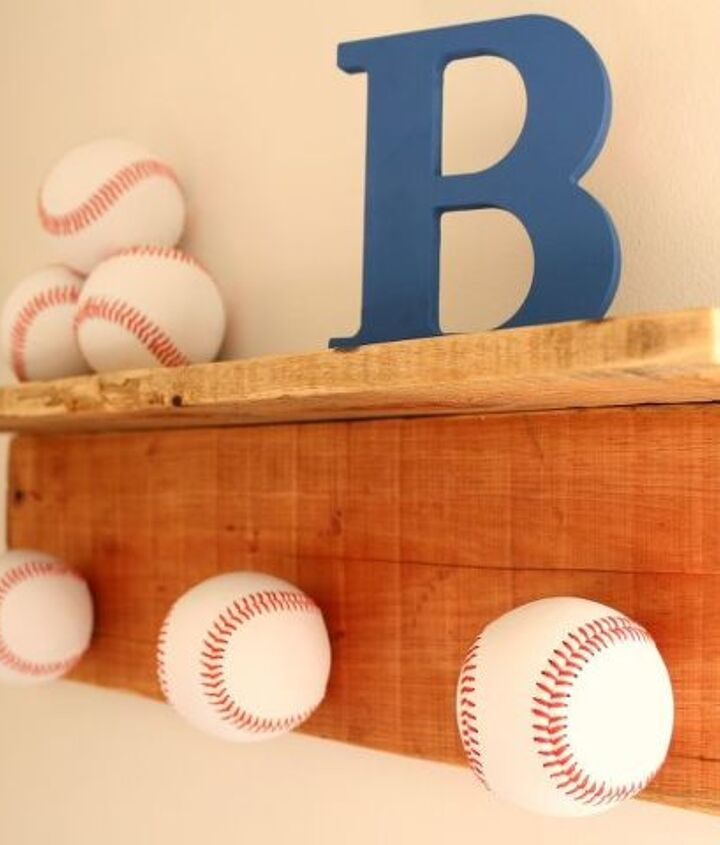 s get ready for the baseball season with these great projects, Amazing Hat Rack