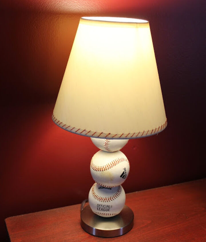 s get ready for the baseball season with these great projects, Bright Table Lamp