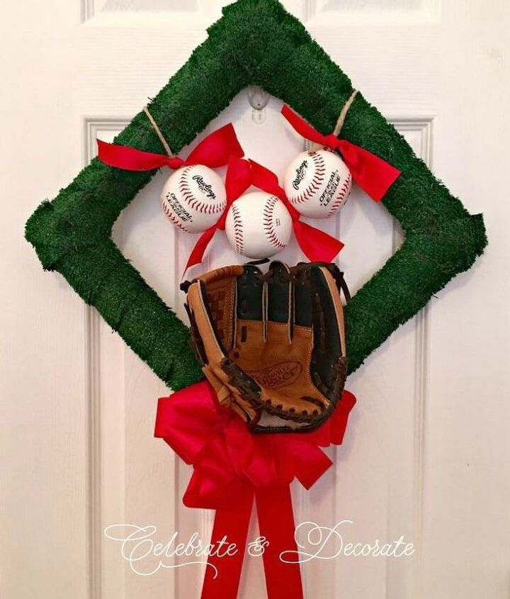 s get ready for the baseball season with these great projects, Greet Your Guests With This Diamond