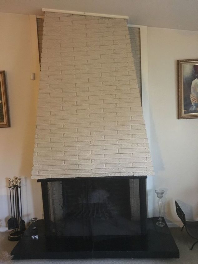 q fireplace and harp makeover any ideas
