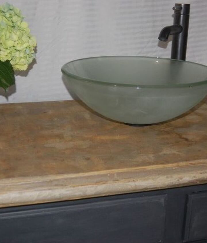 how to make your own concrete countertop for a bathroom vanity