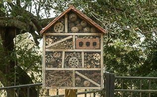 make an insect hotel an easy backyard diy