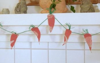 Create A Carrot Garland In No Time