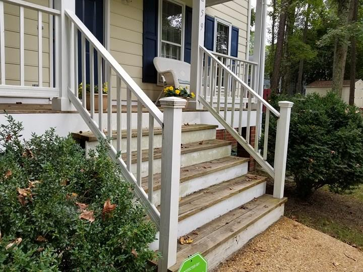 Diy Front Porch Railing Replacement