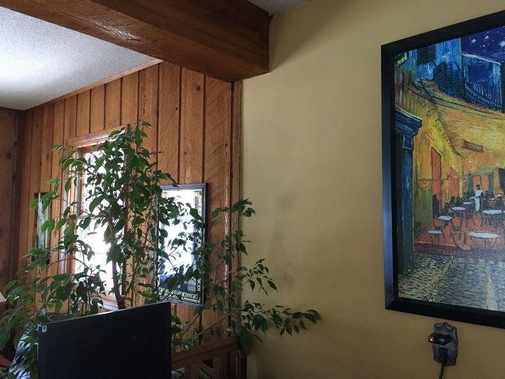 q help w rough cut cedar paneling