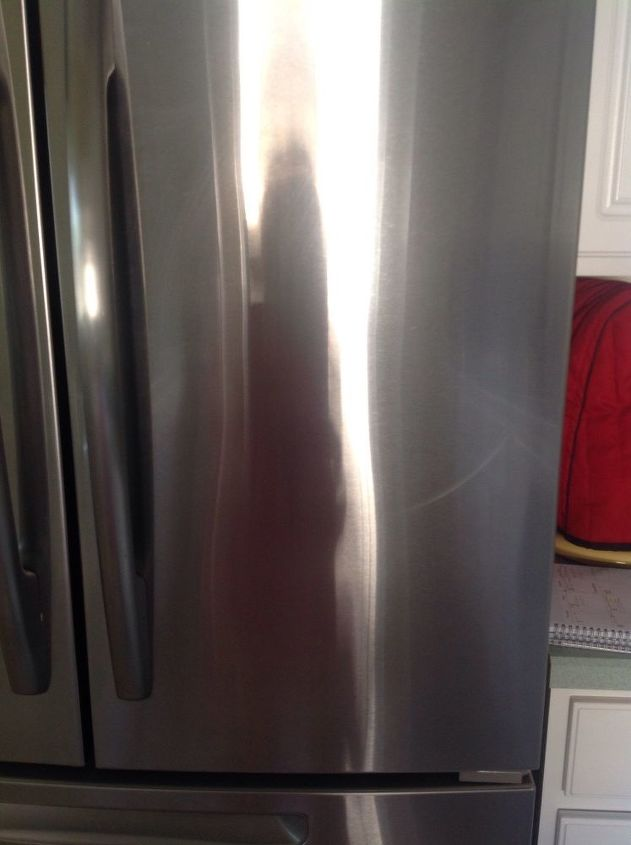 q is there a way to remove scratches from stainless steel appliances