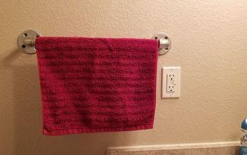 industrial towel bar