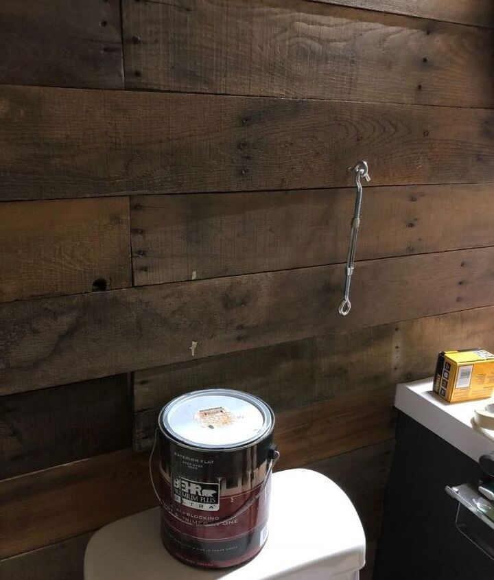 diy industrial contemporary floating shelves