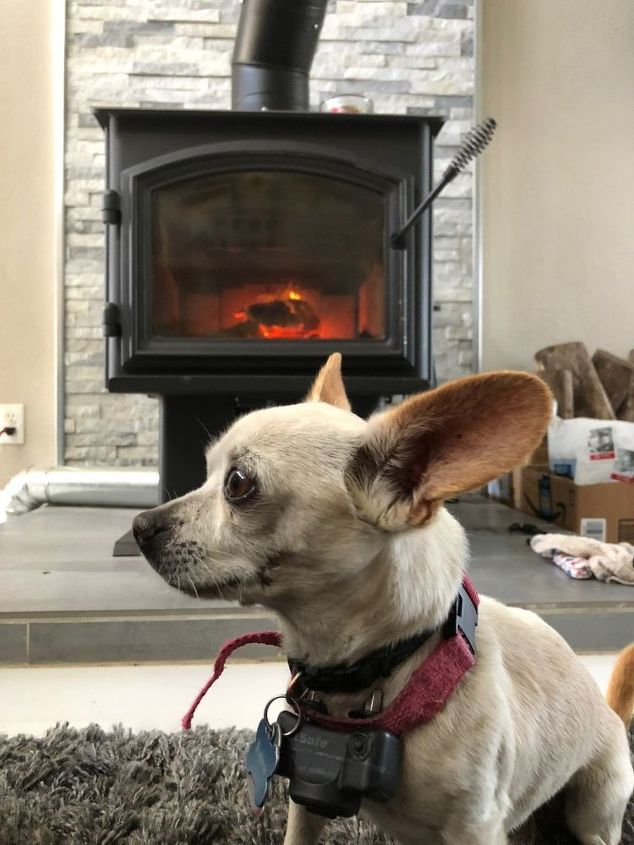diy hearth pad for wood stove