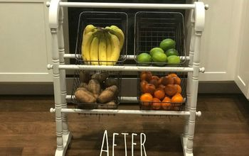 upcycled farmhouse fruit and veggie stand