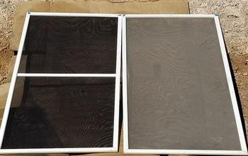 solar screen spray painting