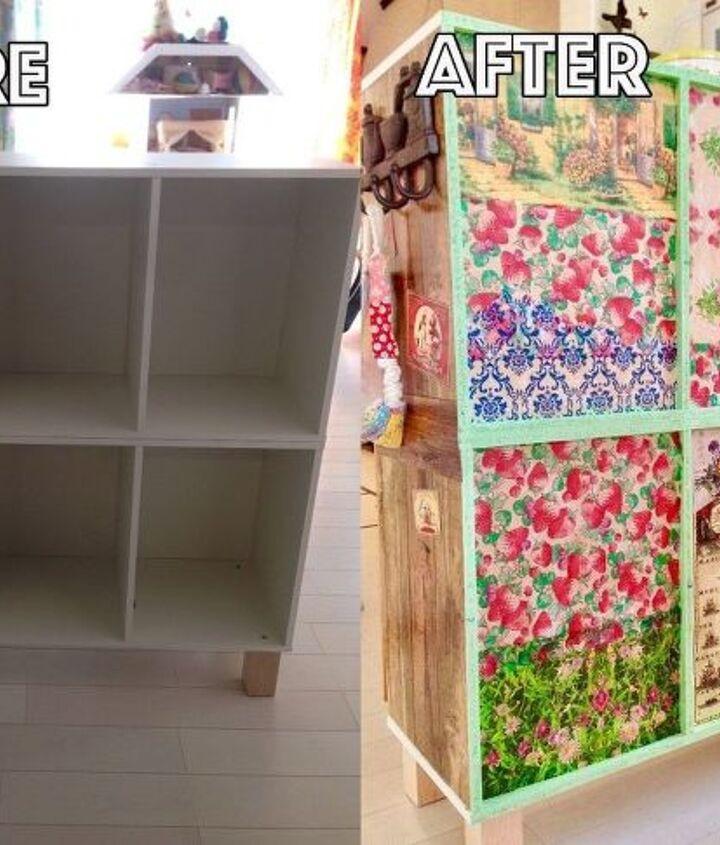 book shelves easy makeover to counter