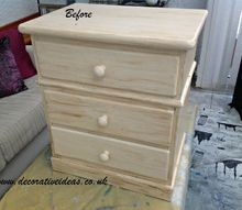 pink and gold chest of drawers