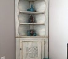 corner cabinet goes country