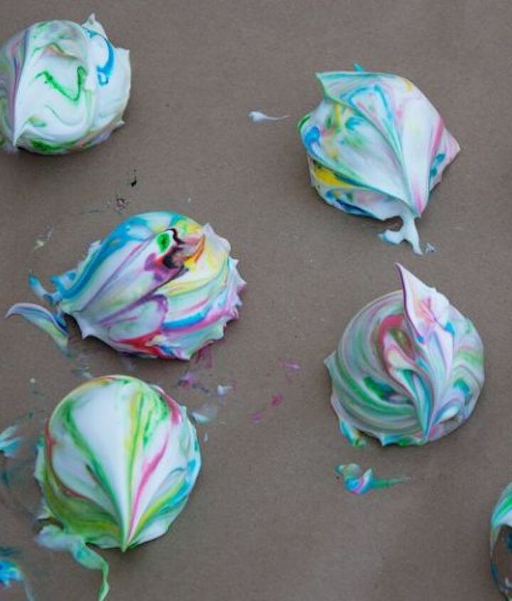 diy marbled easter eggs
