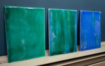 Easy Art - DIY Painting With Resin and Acrylics