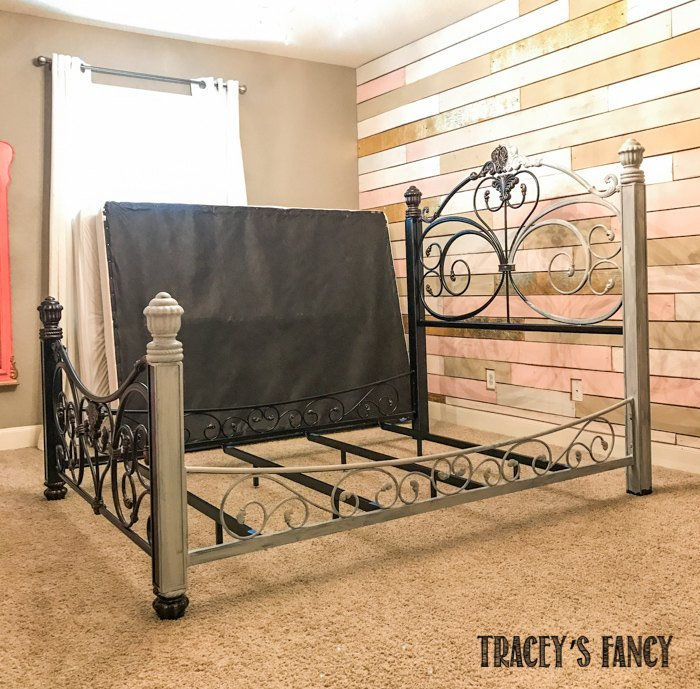 Painted Iron Bed Hometalk