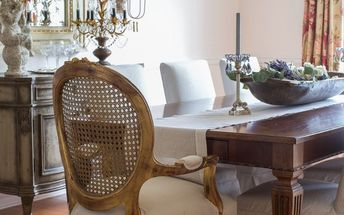 how i transformed my dining room without replacing the furniture