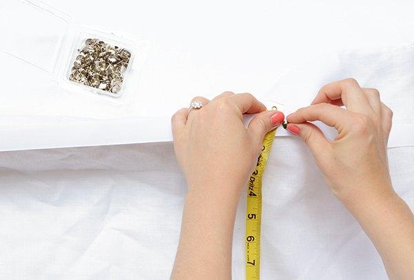 easy diy no sew fabric window valence