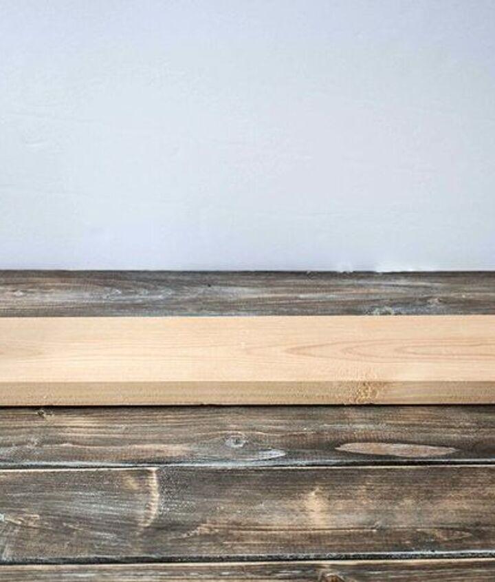 easy wood shim planters