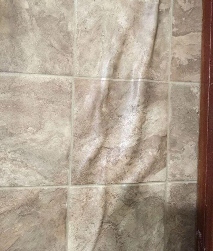 q linoleum bathroom floor