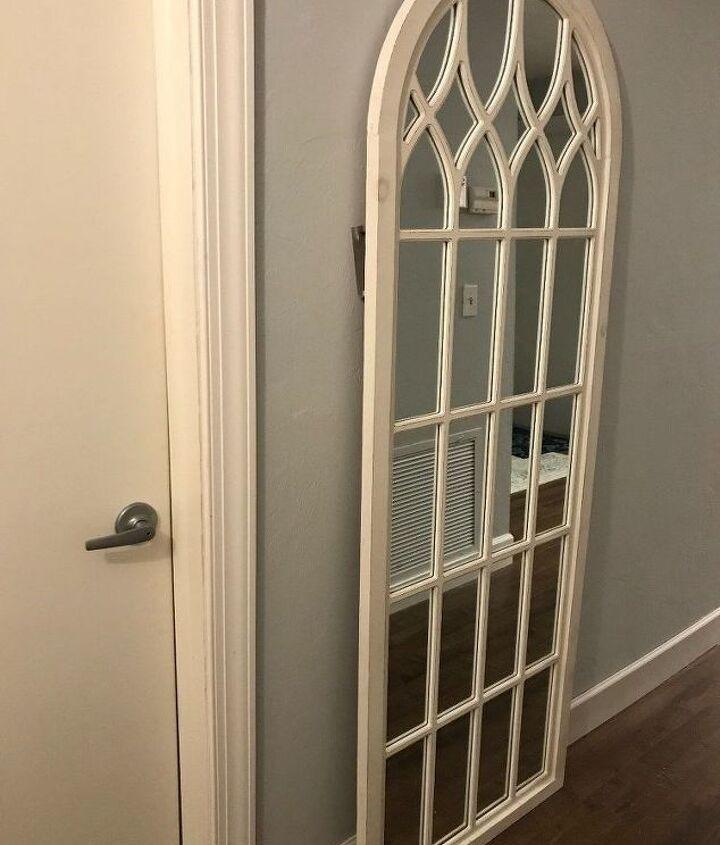 cathedral mirror barn door joanna gaines inpired