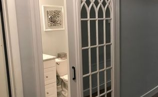 cathedral mirror barn door joanna gaines inpired