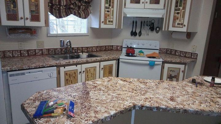 q i would like a creative backsplash idea for my diy kitchen makeover
