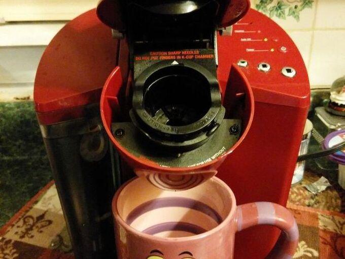 spring cleaning my keurig coffee pot, Clean coffee maker