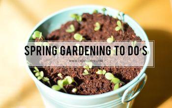 5 essential spring gardening tasks