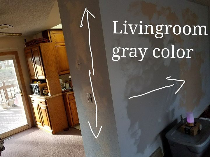 q how do you choose paint for joining walls of diff rooms diff colors