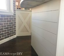 how to add shiplap to a kitchen island 15 to add character
