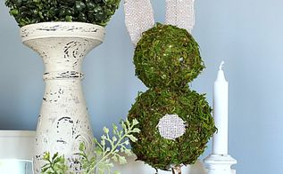 diy easter bunny topiary trees easter blog hop