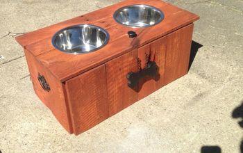 Doggie Feeder/Food Storage