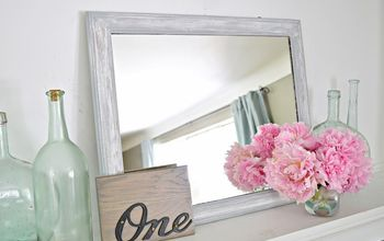 How to Make an Old Mirror Farmhouse Chic