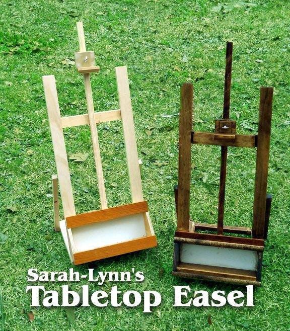 tabletop h frame easel