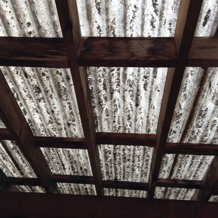 q what is the cheapest way to recover a pergola